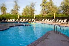 Resort Pool. With sun and shade, Scottsdale, Arizona Royalty Free Stock Photo