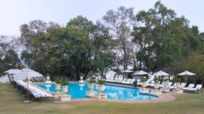 Resort pool Stock Photo