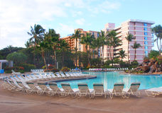 Resort Pool Stock Image