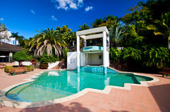 Resort Pool and Spa Royalty Free Stock Images