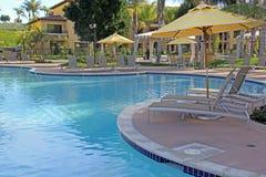 Resort Poolside Stock Images