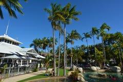 A resort in Port Douglas in Queensland  Australia Royalty Free Stock Photos