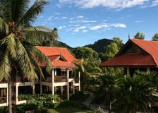 Resort in Pulau Redang, Malaysia Royalty Free Stock Photography