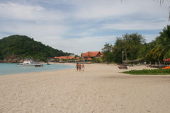 The resort in Pulau redang, malaysia Stock Photography