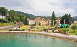 Resort Reifnitz . Lake Worth. Carinthia, Austria Stock Images