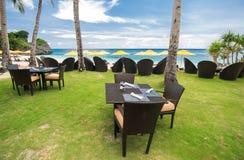 Resort restaurant Stock Photos