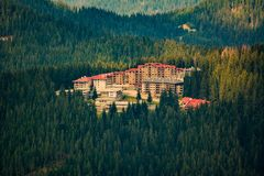 Resort in the Rhodope`s mountains. Stock Image