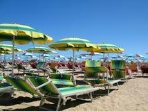 Resort in Rimini Stock Photo