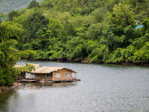 Resort in the river Stock Image