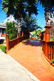 Resort road. Royalty Free Stock Photography