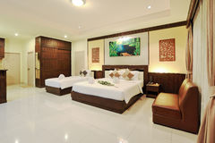 Resort room Royalty Free Stock Photography