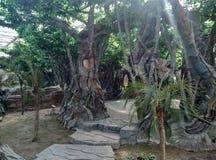 Resort scenery Stock Photo