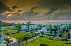 Resort Sea View Royalty Free Stock Image