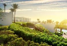 Resort in Sharm el Sheikh Stock Photo