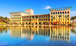 Resort on the shores of the Red Sea Royalty Free Stock Image