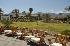 Resort in Sinai. Royalty Free Stock Photography