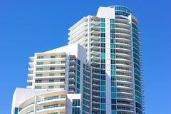 A resort skyscraper. Stock Image