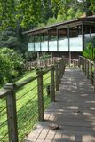 Resort Spa. Tropical Resort Spa on an island resort royalty free stock photos