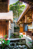 A Resort and Spa in Ubud, Bali Stock Images
