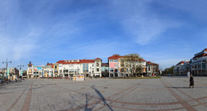The Resort Square in Sopot Stock Image