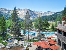 Resort at Squaw Creek. Squaw Valley from the Resort at Squaw Creek Stock Image