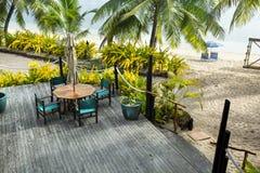 Resort sundeck Royalty Free Stock Photo