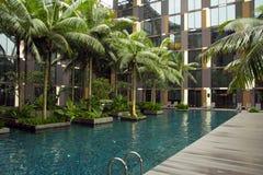 Free Resort Swimming Pool Stock Photo - 26030240