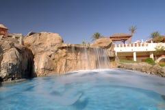 Resort swimming pool Stock Photography