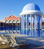 Resort Swimming Pool Royalty Free Stock Photos