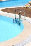 Resort Swimming Pool Area Stock Photo