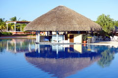 Resort Swimming Pool Bar Royalty Free Stock Image