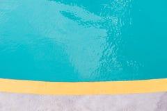 Resort swimming pool Stock Images