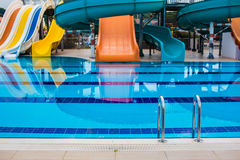 Resort swimming pool Royalty Free Stock Photos