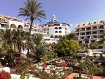 Resort Tenerife. Resort apartments at Tenerife Spain royalty free stock image