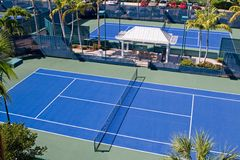 Resort Tennis Club Stock Photos
