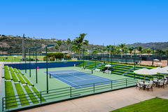 Resort Tennis Courts - Carlsbad, CA Stock Images