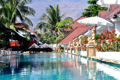 Resort in Thailand Stock Image