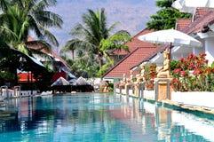 Resort in Thailand stock image