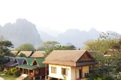 Resort town. Stock Photo