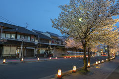 Resort town Arashiyama, Kyoto, Japan Royalty Free Stock Image
