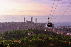 Resort town of Batumi Royalty Free Stock Photography