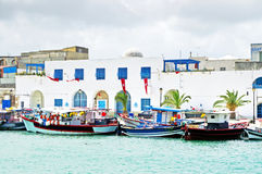 Resort town Bizerte in Tunisia, Africa Royalty Free Stock Photography