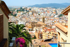 Resort town Blanes. Costa Brava, Catalonia, Spain Stock Photo