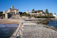 Resort Town of Estoril in Portugal. Stock Image