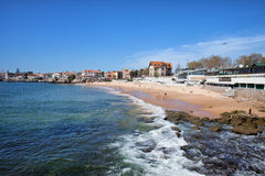 Resort Town of Estoril in Portugal Stock Image