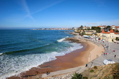 Resort Town of Estoril in Portugal Royalty Free Stock Images