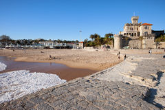 Resort Town of Estoril in Portugal Royalty Free Stock Photos