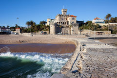 Resort Town of Estoril in Portugal Stock Photography
