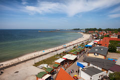 Resort Town of Hel in Poland at Baltic Sea Royalty Free Stock Photography