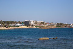 The resort town on the Mediterranean coast Stock Photo
